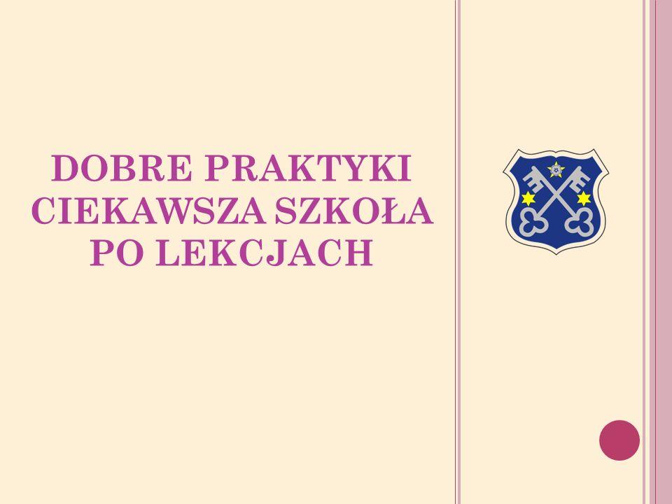 Miejsce realizacji Opis dobrej praktyki Finansowanie Partner zaangażowany Przeglądy małych form teatralnych - Dni integracji Zespół Szkół nr 2 z Oddziałami Integracyjnymi w Krotoszynie W 2011r.