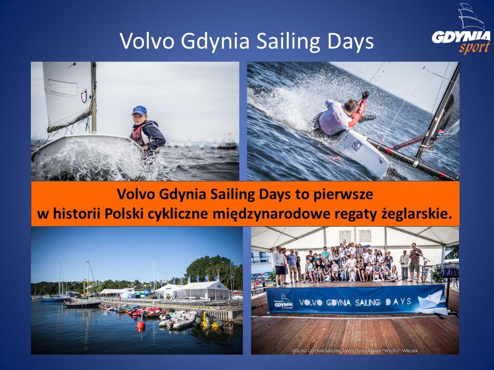 Volvo Gdynia Sailing Days Volvo Gdynia Sailing Days to pierwsze w historii Polski cykliczne międzynarodowe regaty żeglarskie.