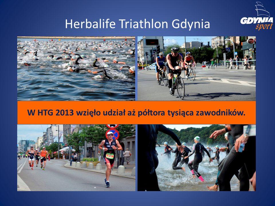 Herbalife Triathlon Gdynia W HTG 2013 wzięło udział aż półtora tysiąca zawodników.