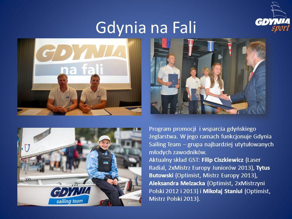 Program promocji i wsparcia gdyńskiego żeglarstwa. W jego ramach funkcjonuje Gdynia Sailing Team – grupa najbardziej utytułowanych młodych zawodników.