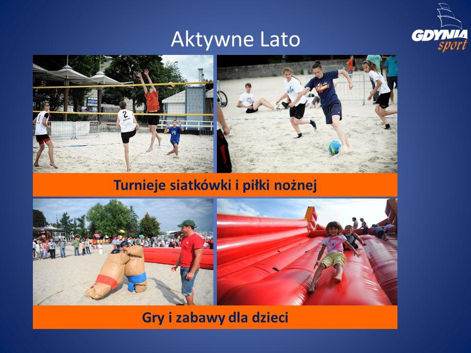 Aktywne Lato Gry i zabawy dla dzieci Turnieje siatkówki i piłki nożnej