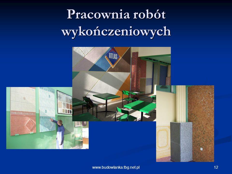12www.budowlanka.tbg.net.pl Pracownia robót wykończeniowych