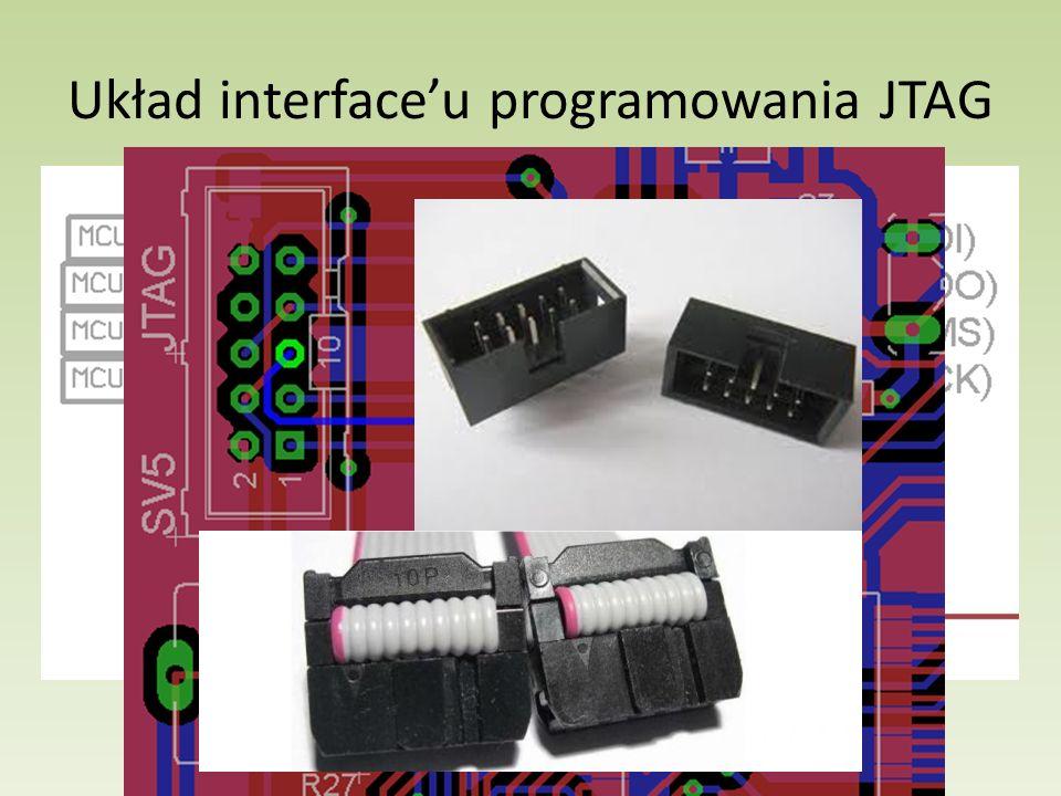 Układ interfaceu programowania JTAG