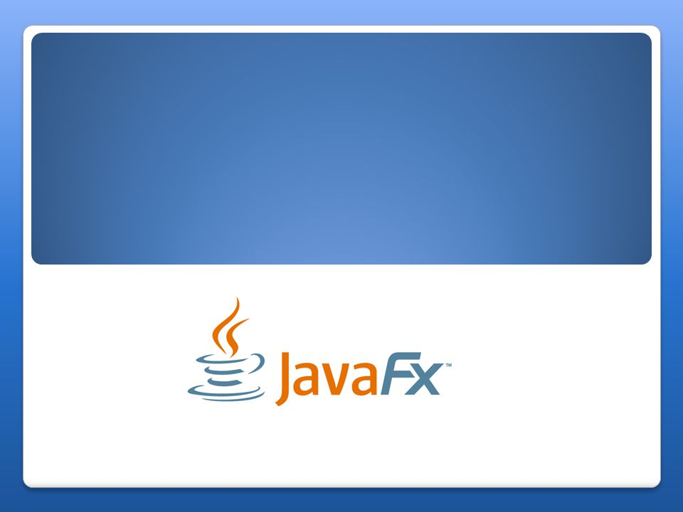 Czym jest JavaFX.