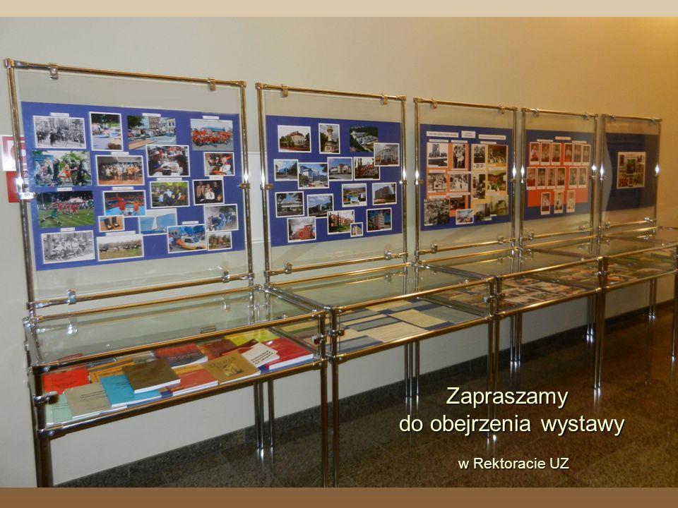 Zapraszamy do obejrzenia wystawy w Rektoracie UZ w Rektoracie UZ