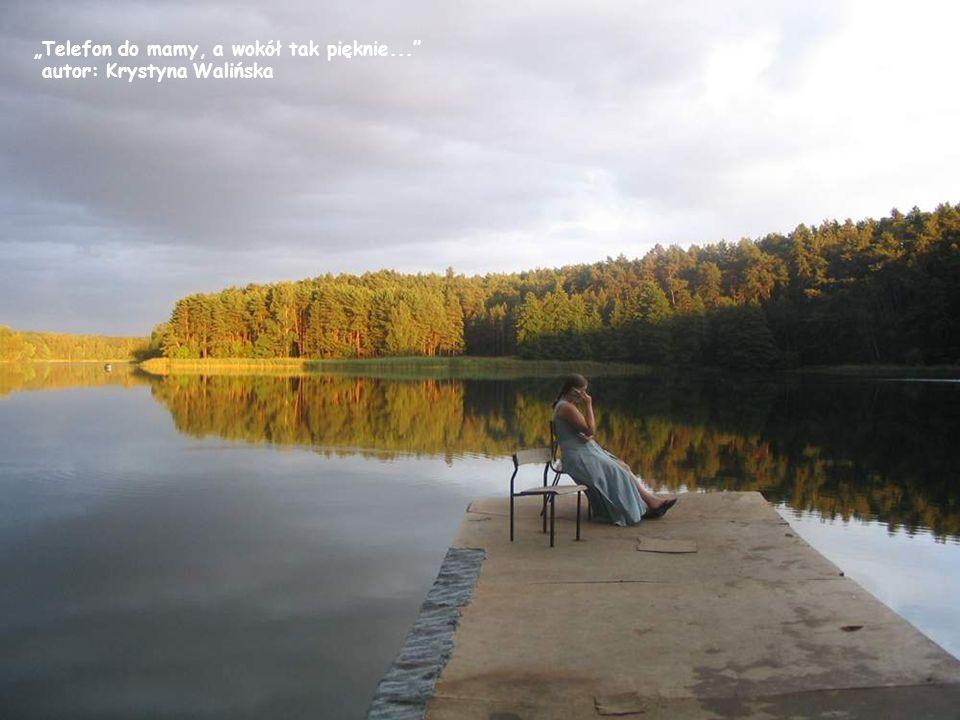 Woda i cisza autor: Krystyna Walińska Ulubiony pomost w Korczakowie autor: Krystyna Walińska