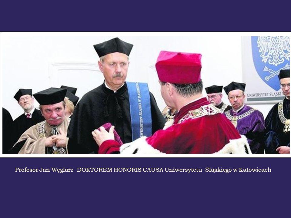 Profesor Jan Węglarz DOKTOREM HONORIS CAUSA Akademii Górniczo - Hutniczej w Krakowie