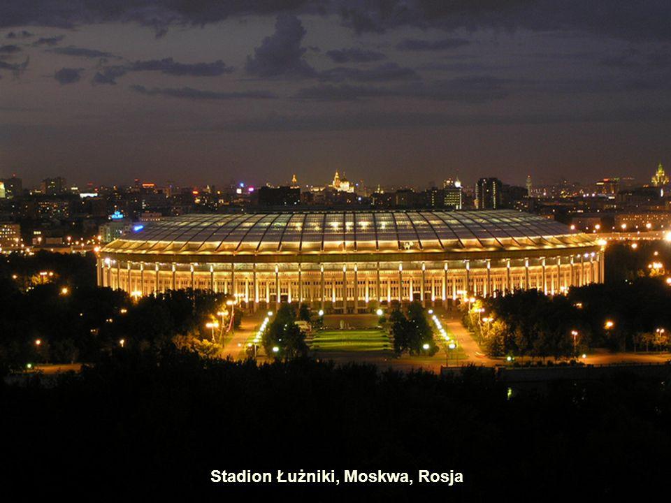 Stadion Olimpijski Lluís Companys, Barcelona, Hiszpania Stadion Olimpijski, Montreal, Kanada Stadion Narodowy, Pekin, Chiny.