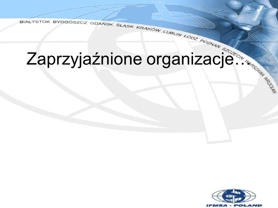 Zaprzyjaźnione organizacje…