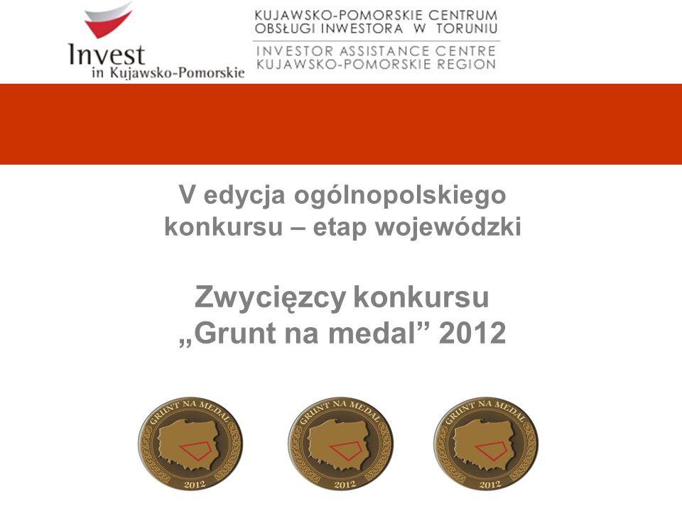 V edycja ogólnopolskiego konkursu – etap wojewódzki Zwycięzcy konkursu Grunt na medal 2012