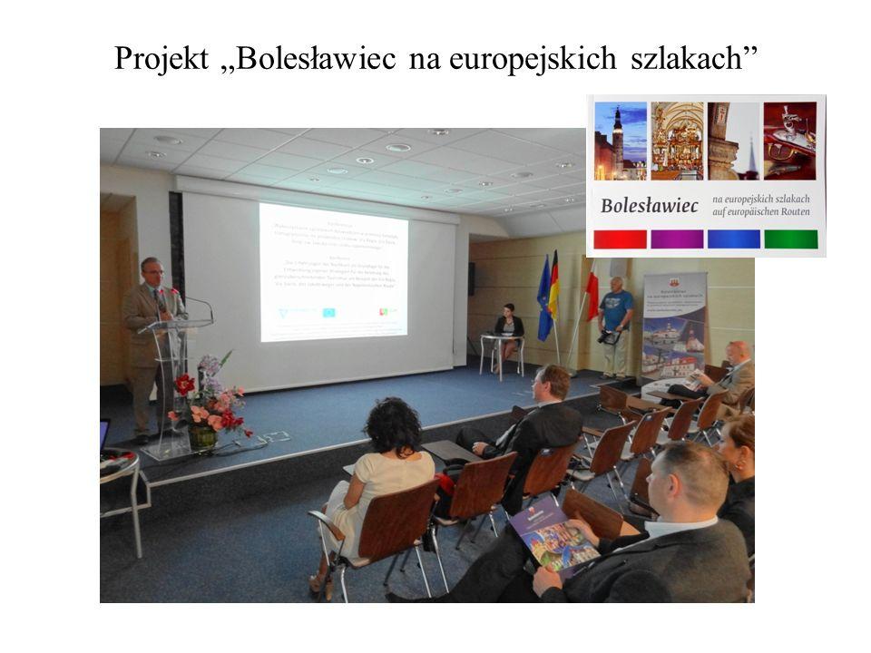 Projekt Bolesławiec na europejskich szlakach