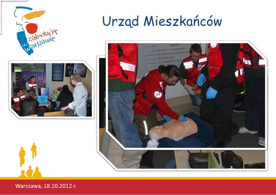 Urząd Mieszkańców Warszawa, 18.10.2012 r.