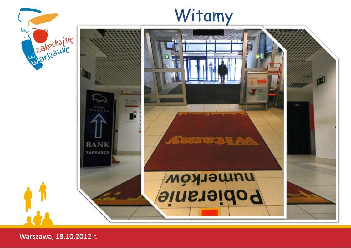 Referat kancelaryjny Warszawa, 18.10.2012 r.
