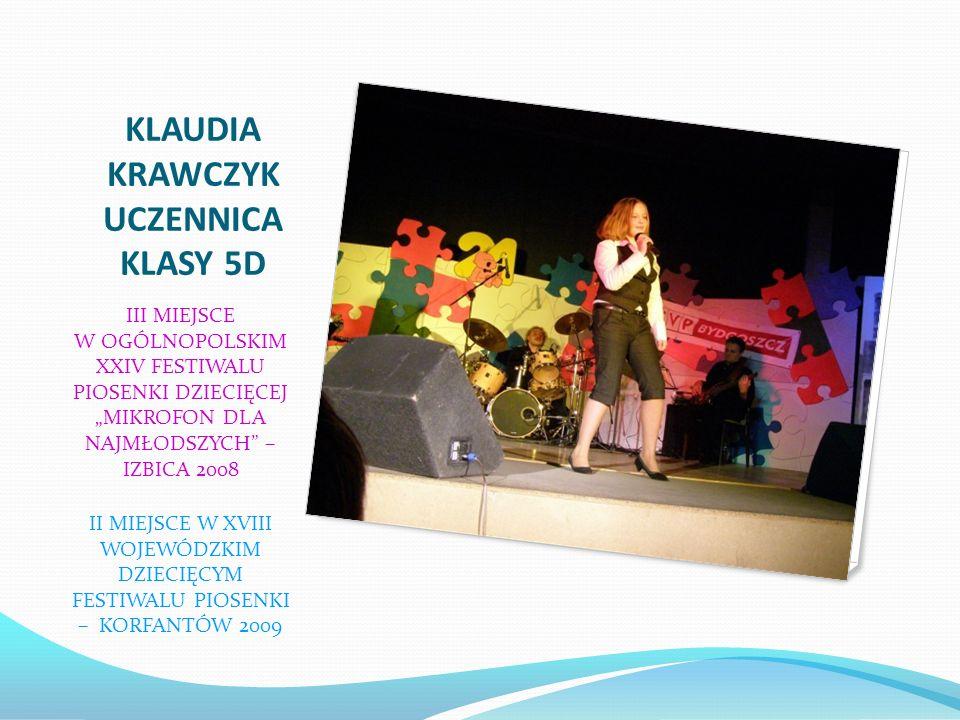 KAMILA ŚLIWIOK III miejsce w Mistrzostwach Chorzowa w Akrobatyce Sportowej. Memoriał Ryszarda Kafanke w konkurencji skok dziewcząt w klasie młodzieżow
