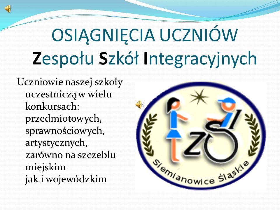 PUCHAR ZA ZAJĘCIE TRZECIEGO MIEJSCA w IX Festiwalu Integracji