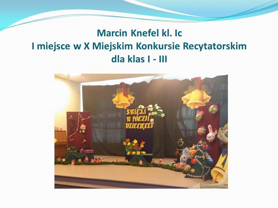 Międzyszkolny konkurs gwary śląskiej Nie ma to jak u nos – na Śląsku Jacek Mierzwa kl. 5b III miejsce Sóm całe rodziny utopców – stare i młode utopce