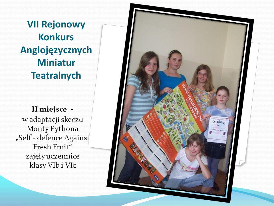 Marcin Knefel kl. Ic I miejsce w X Miejskim Konkursie Recytatorskim dla klas I - III