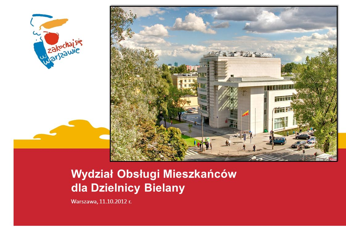 Warszawa, 11.10.2012 r.- Dzień dobry. - Dzień dobry Panu.