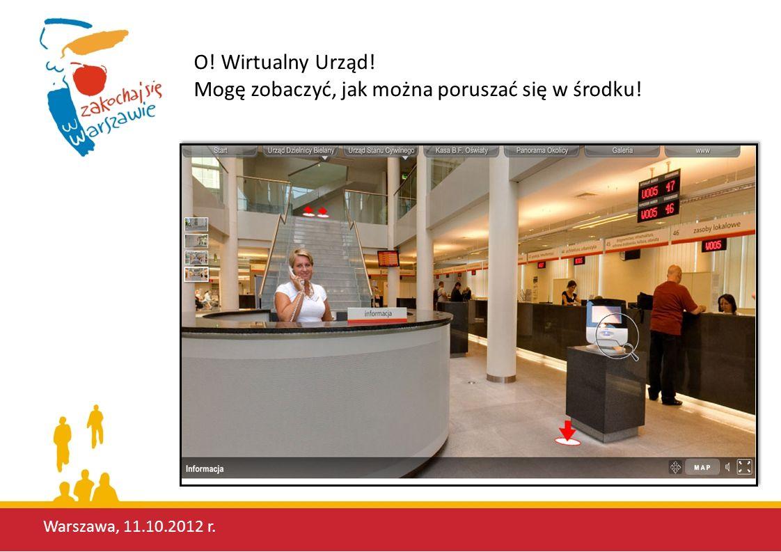 Warszawa, 11.10.2012 r. Załatwione!!!