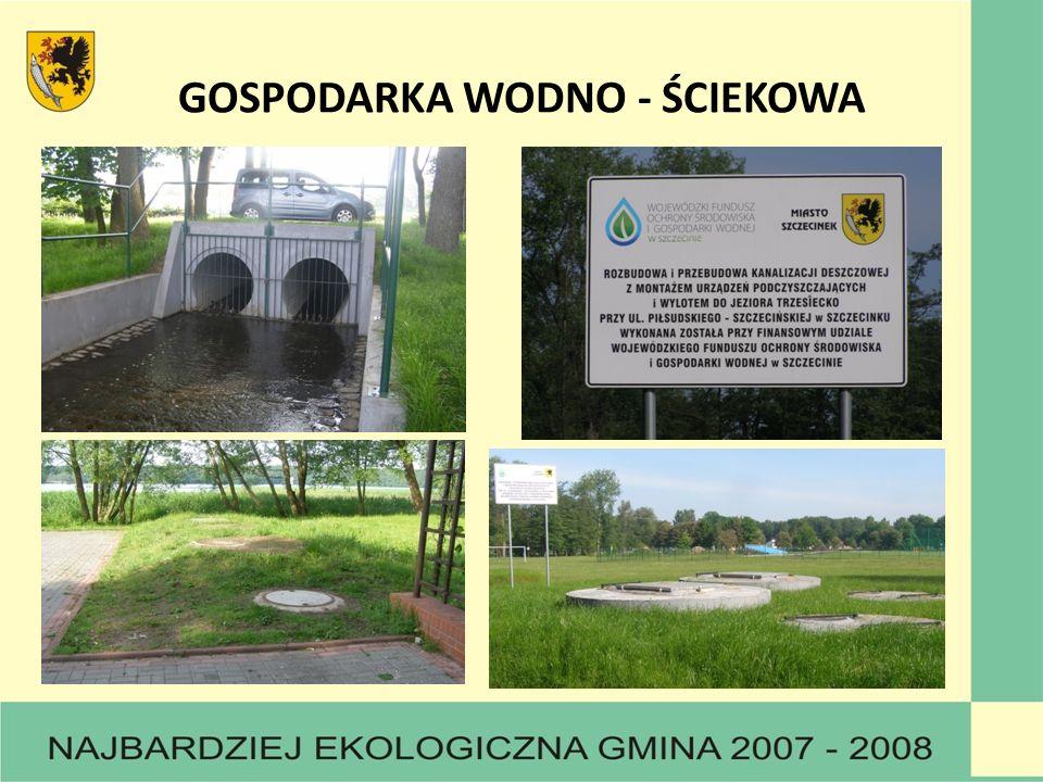 GOSPODARKA WODNO - ŚCIEKOWA