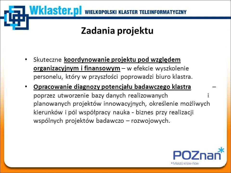 Analiza kompetencji i potencjału firm klastra WKT - VERAX Informacje o firmie Profil działalności (wg klasyfikacji PKD i CEBIT) Opis usług lub produktów Zasoby ludzkie