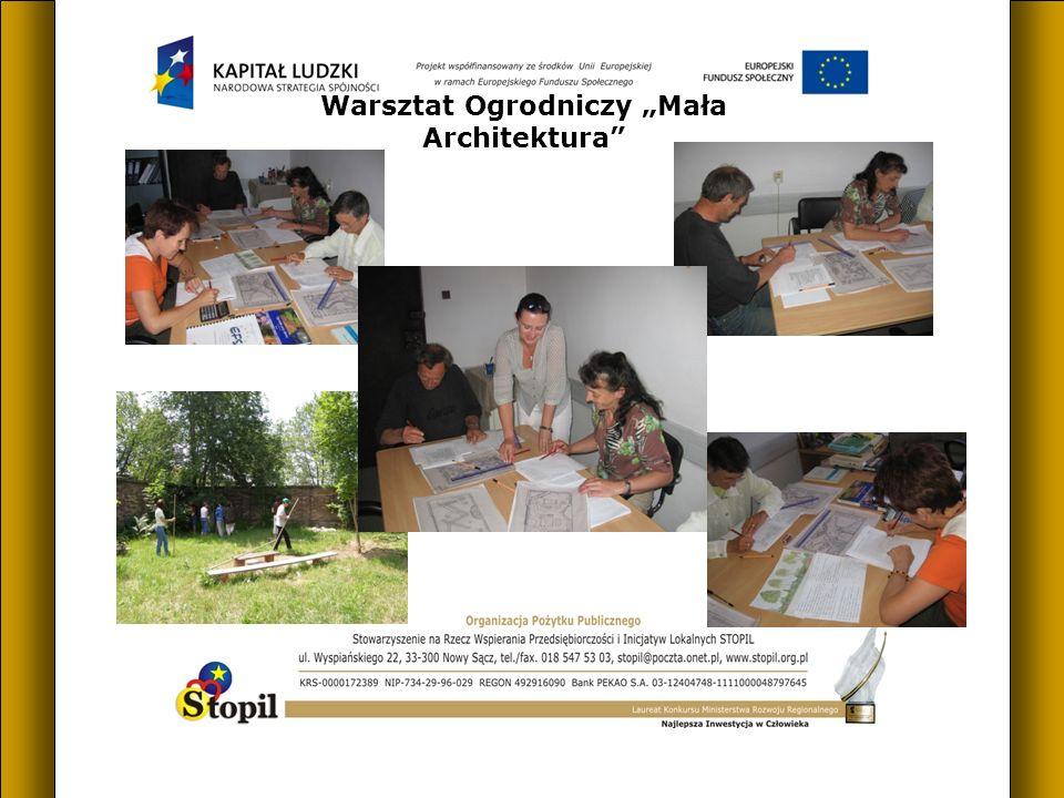 Warsztat Ogrodniczy Mała Architektura