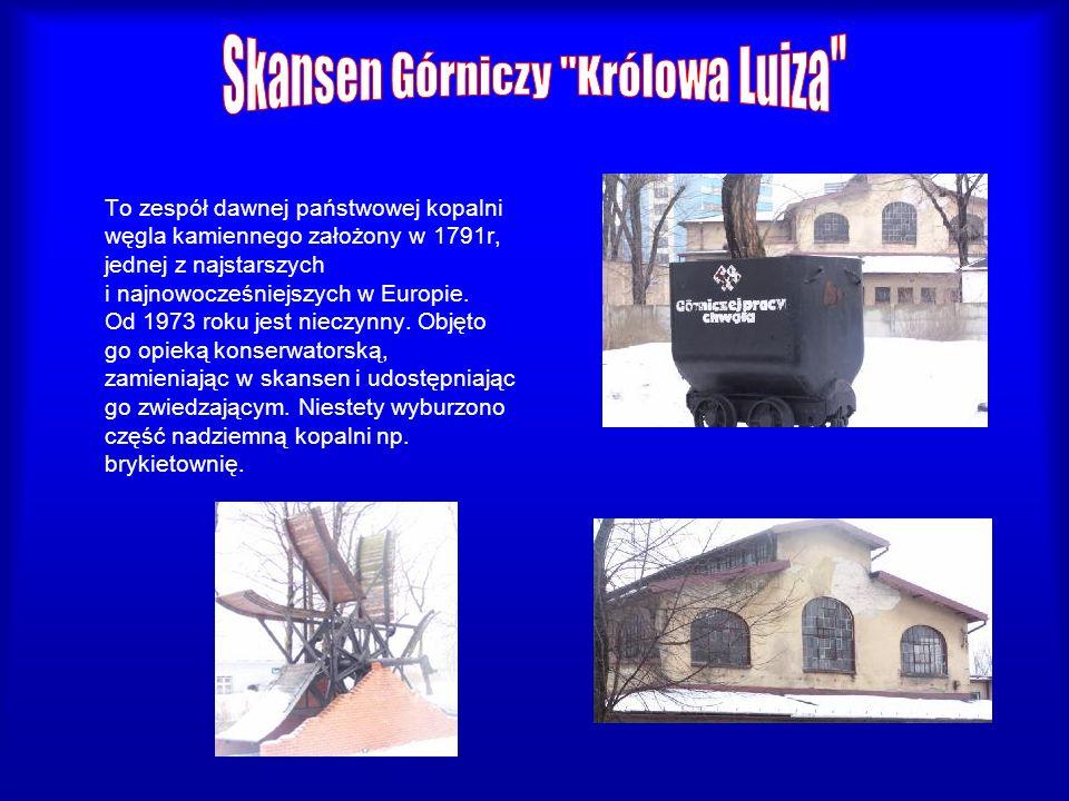 To zespół dawnej państwowej kopalni węgla kamiennego założony w 1791r, jednej z najstarszych i najnowocześniejszych w Europie. Od 1973 roku jest niecz