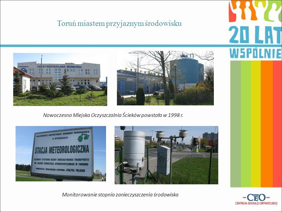Toruń miastem przyjaznym środowisku Wywiad z p. Jolantą Makowską Głównym Specjalistą ds. Edukacji w Miejskim Przedsiębiorstwie Oczyszczania w Toruniu
