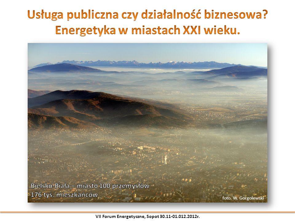 foto. W. Gorgolewski VII Forum Energetyczne, Sopot 30.11-01.012.2012r.