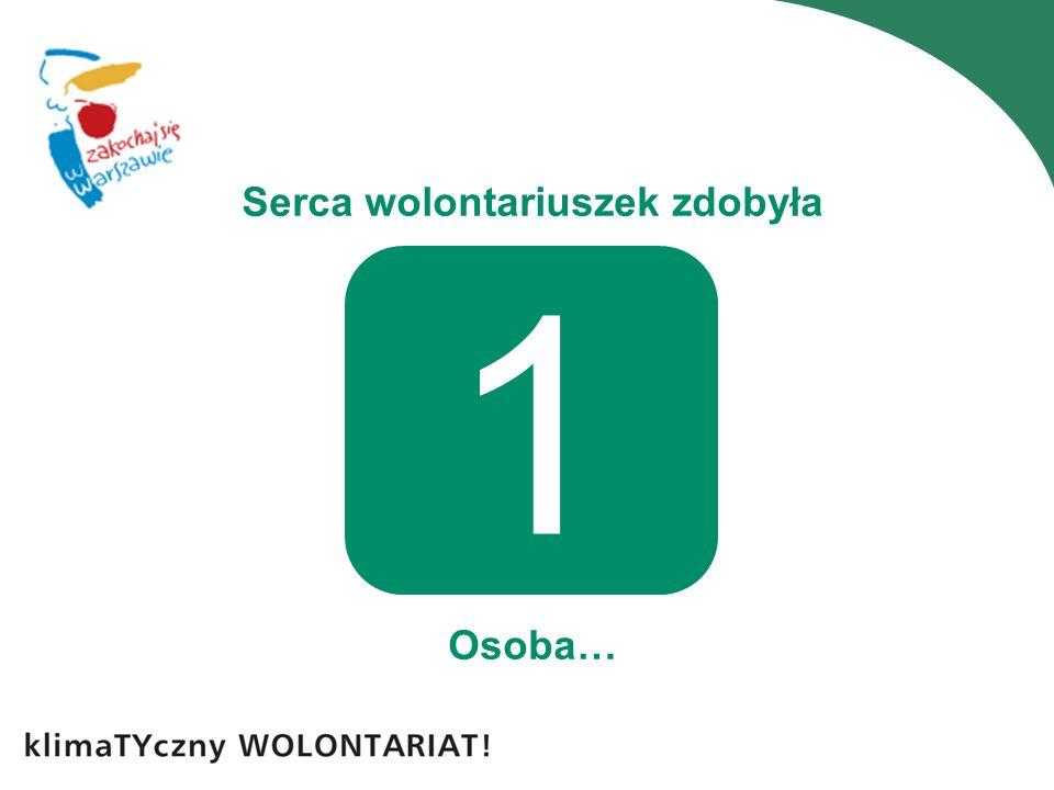 Serca wolontariuszek zdobyła Osoba… 1