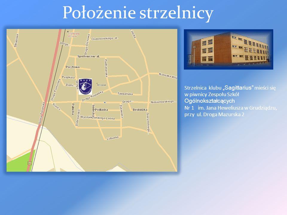 Miedzyszkolny Uczniowski Klub Strzelecki Sagittarius w Grudziadzu – strzelnica pneumatyczna Sagittarius