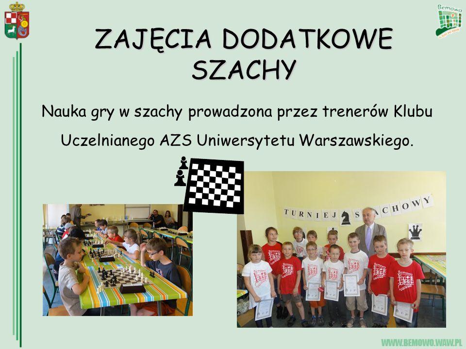 Nauka gry w szachy prowadzona przez trenerów Klubu Uczelnianego AZS Uniwersytetu Warszawskiego.