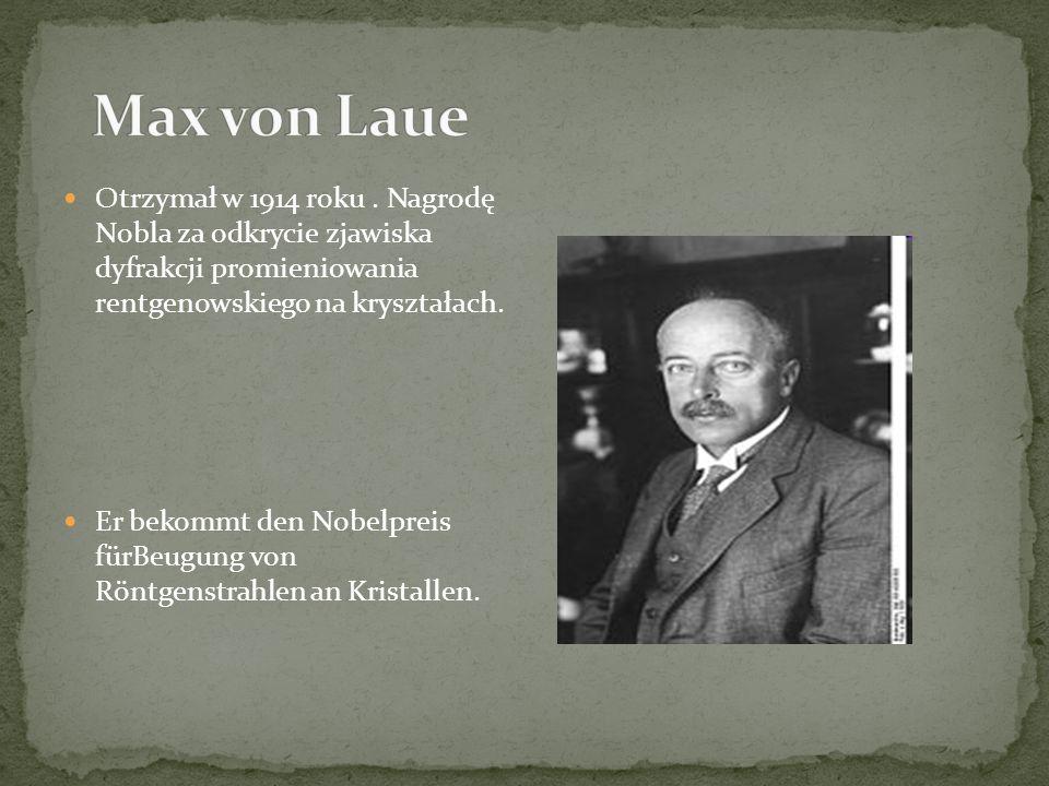 Otrzymał w 1914 roku.