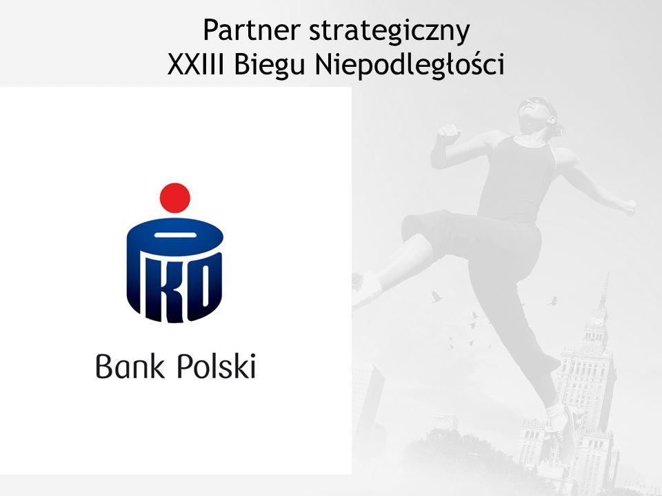 Partner strategiczny XXIII Biegu Niepodległości