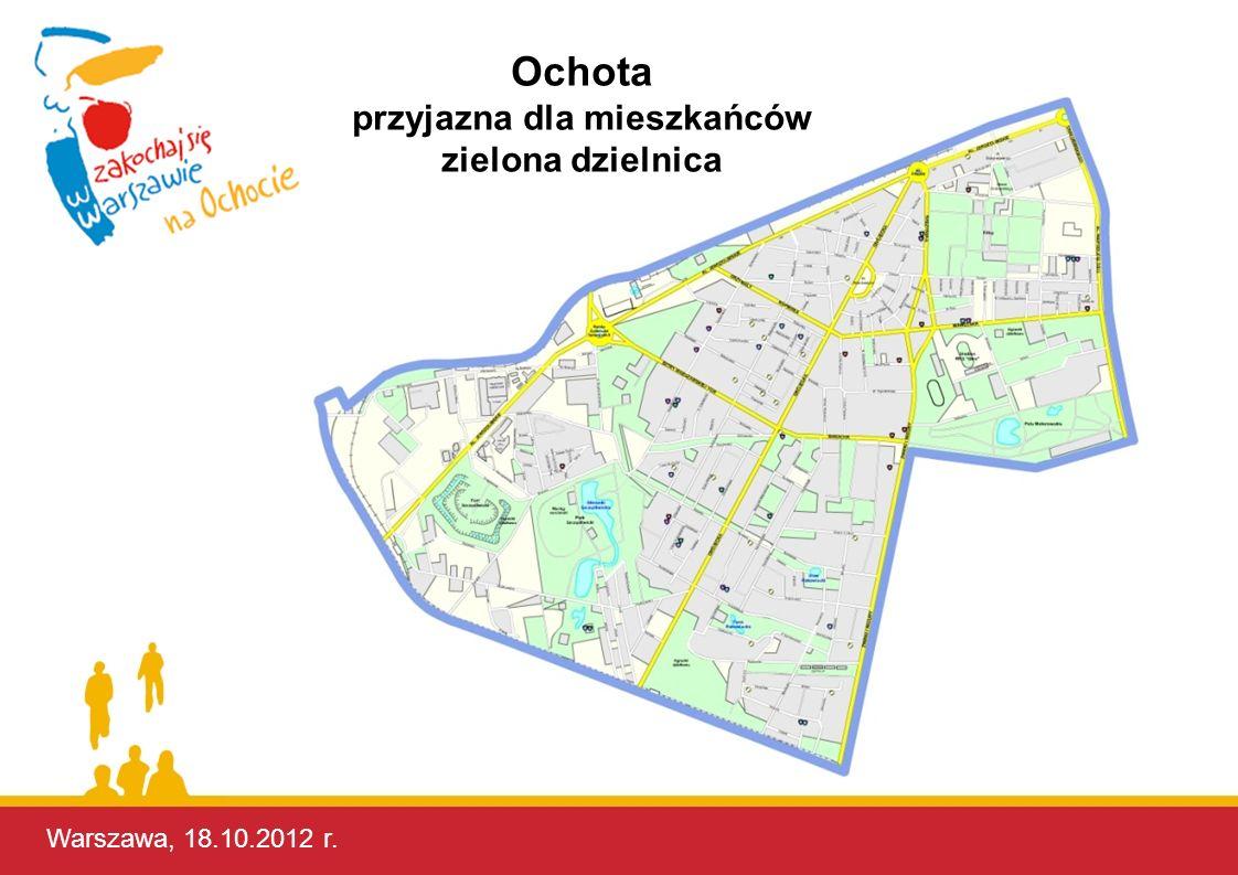Warszawa, 17.10.2012 r.To są plusy naszej Dzielnicy.