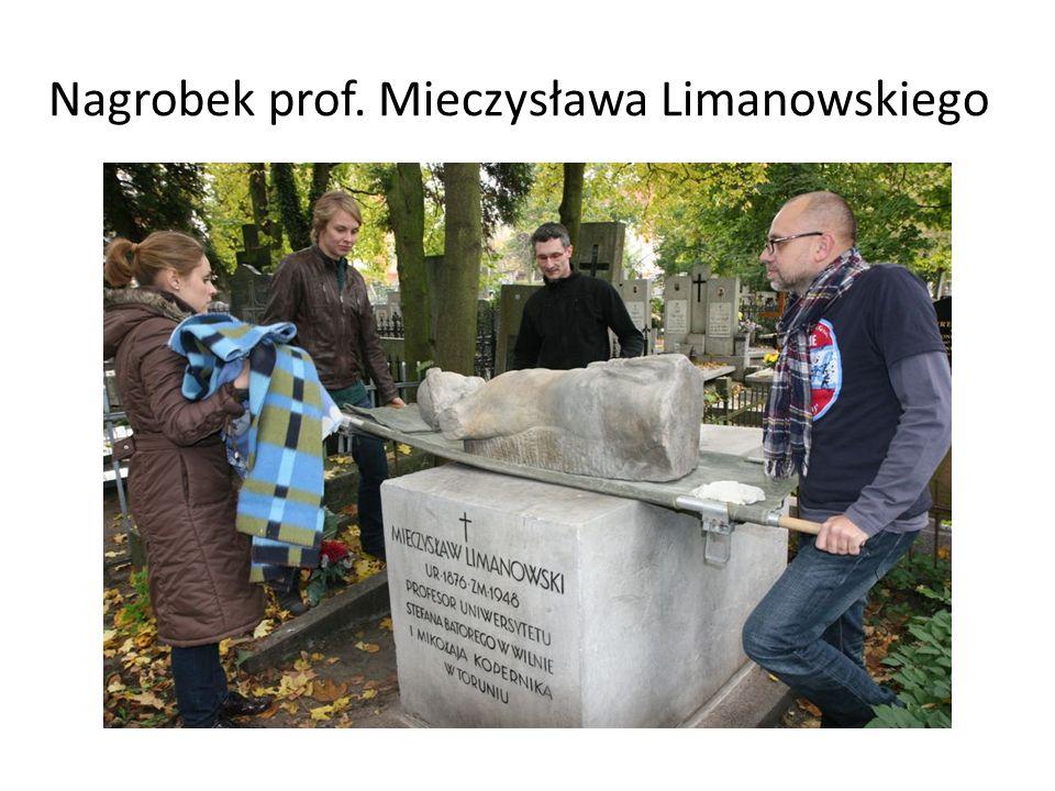 Nagrobek prof. Mieczysława Limanowskiego
