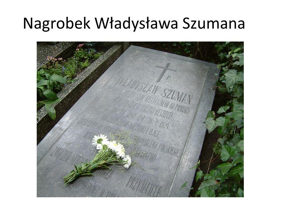 Nagrobek Władysława Szumana