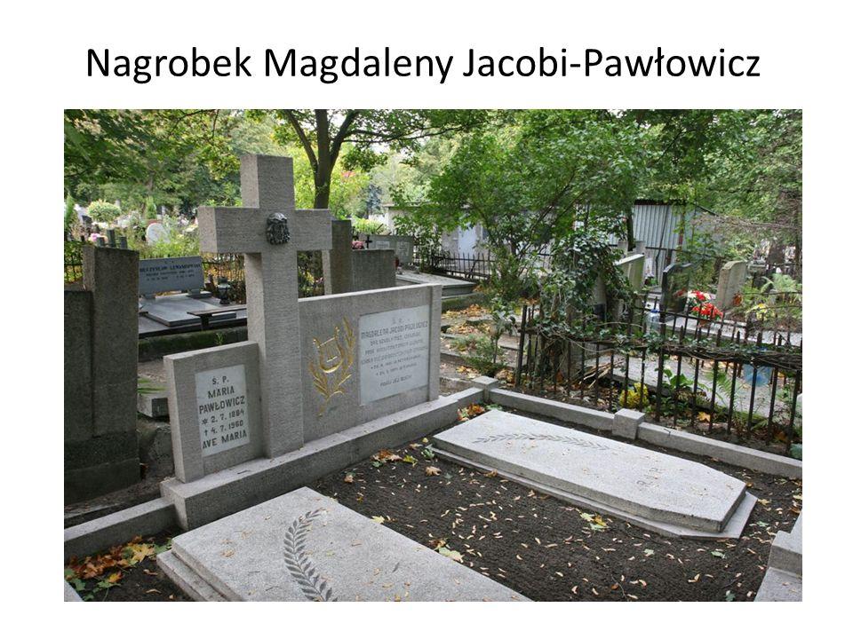 Nagrobek Magdaleny Jacobi-Pawłowicz