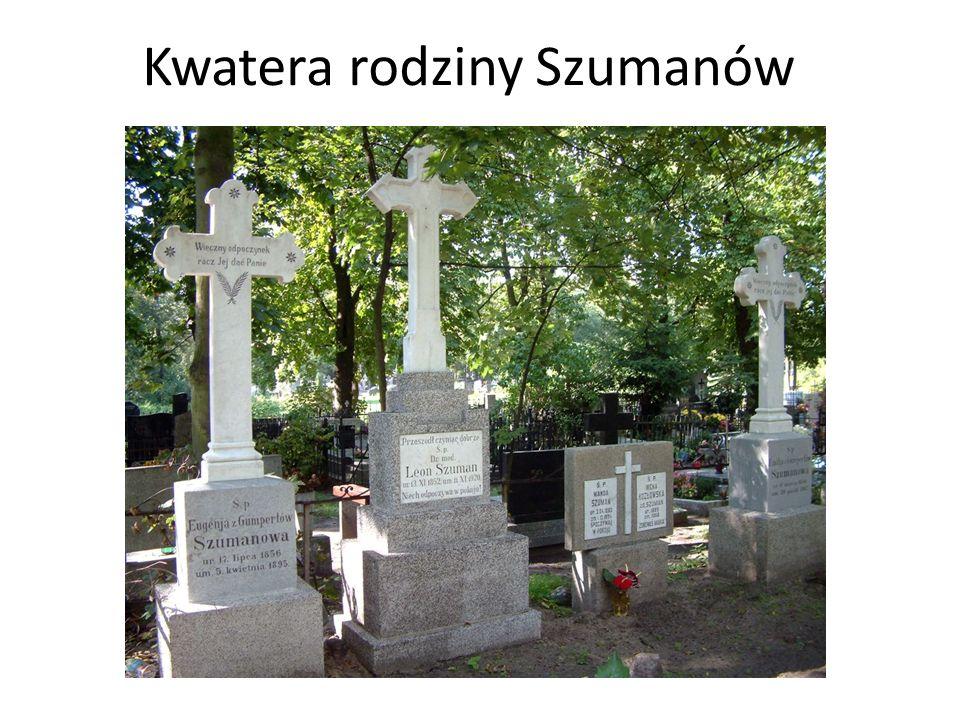 Kwatera rodziny Szumanów