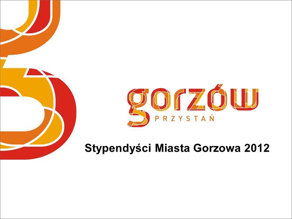 Stypendyści Miasta Gorzowa 2012