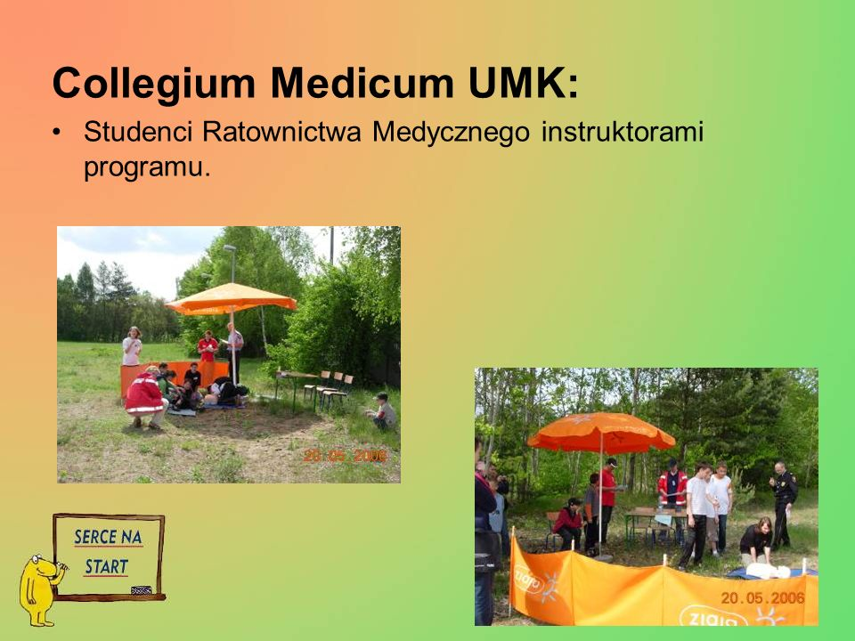 Collegium Medicum UMK: Studenci Ratownictwa Medycznego instruktorami programu.