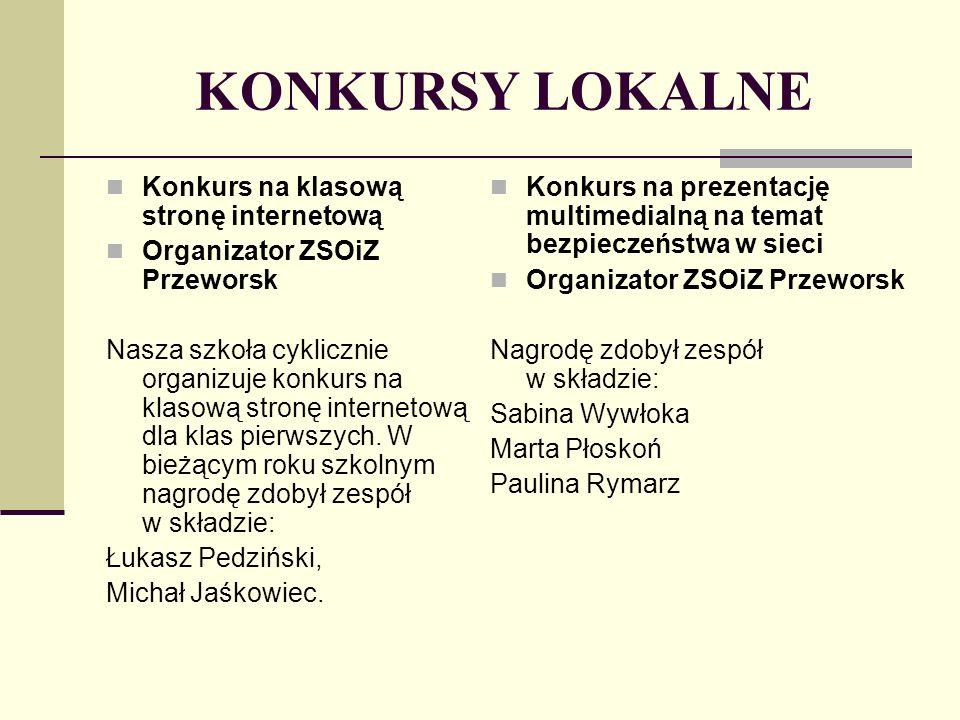 Organizator: Stowarzyszenie Nauczycieli Technologii Informacyjnej, Wrocław – SNTI Wydział Matematyki i Informatyki, UMK, Toruń – WMiI-UMK Vulcan, Wrocław KONKURSY MIĘDZYNARODOWE