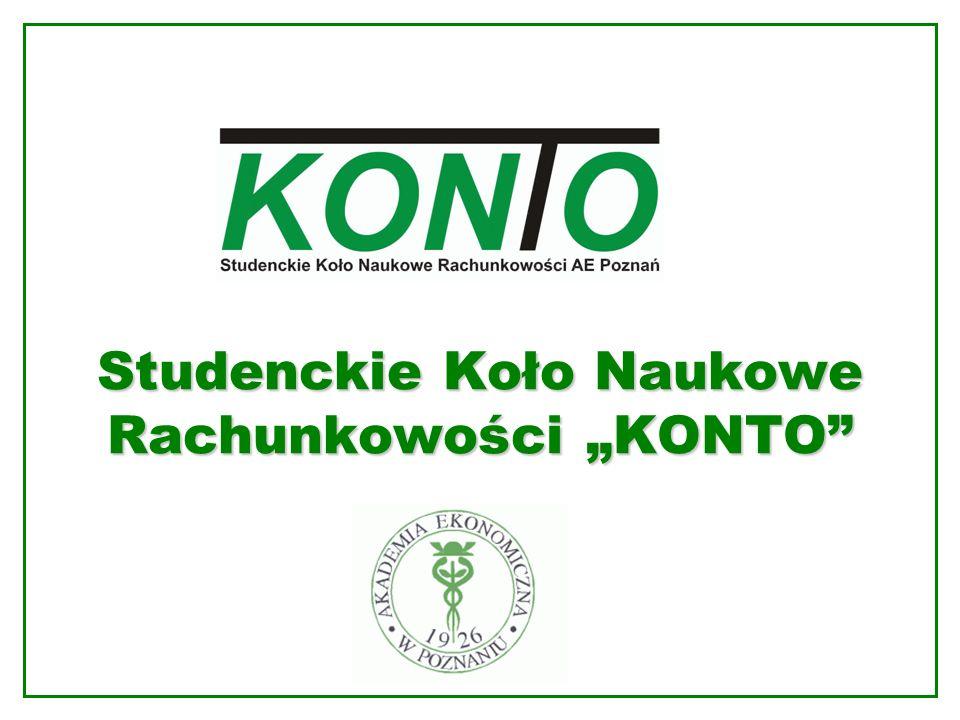 Studenckie Koło Naukowe Rachunkowości KONTO