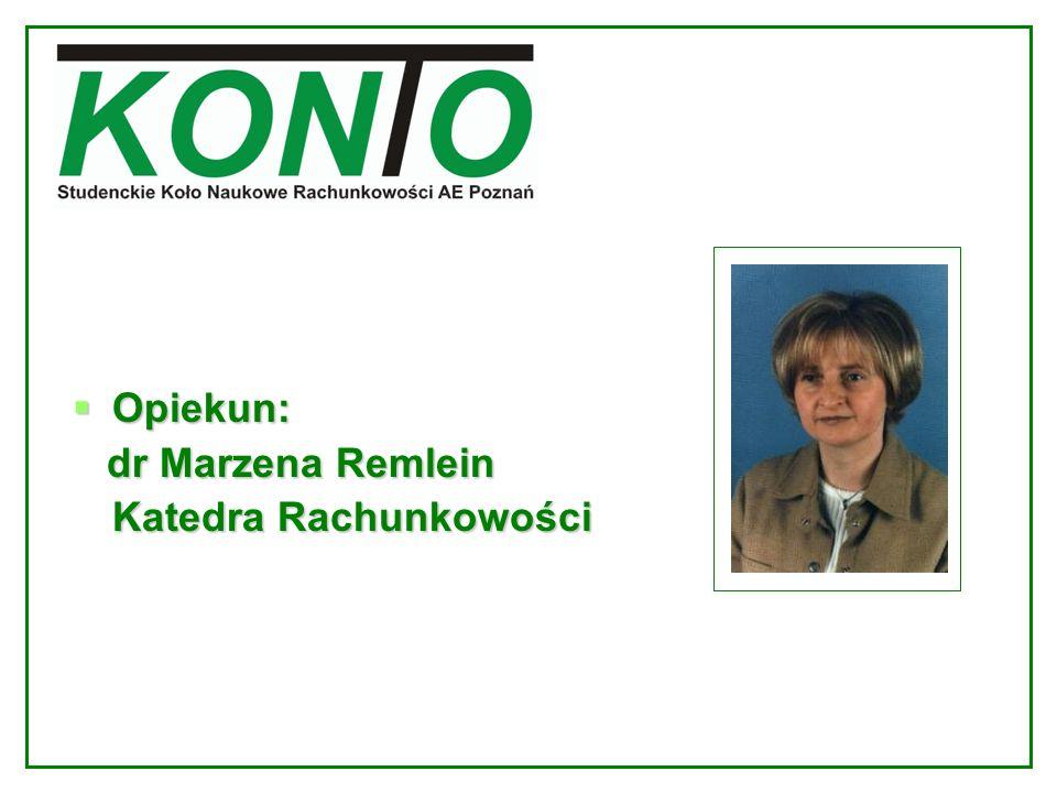 Największy projekt SKNR Konto: Konferencja naukowa Rachunkowość w warunkach Unii EuropejskiejRachunkowość w warunkach Unii Europejskiej 12-13 maja 2005