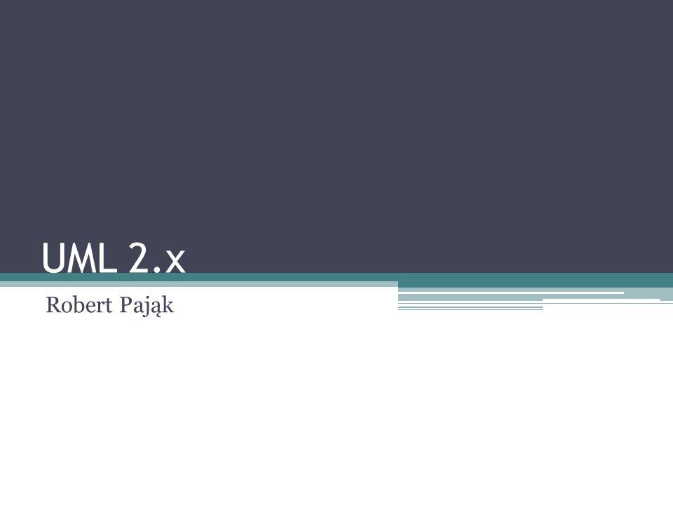 UML 2.x Robert Pająk