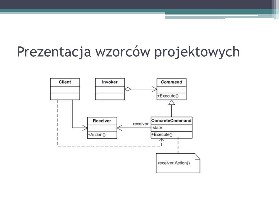 Prezentacja wzorców projektowych