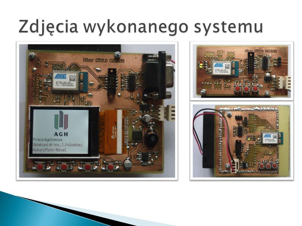 Urządzenie koordynatora posiada nowoczesny graficzny interfejs użytkownika do prezentacji danych i sterowania systemem.