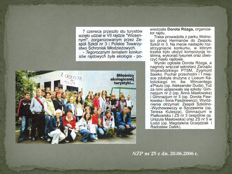 NŻP nr 25 z dn. 20.06.2006 r.