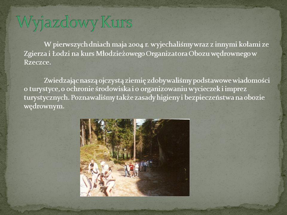 W ostatnim dniu kursu zafundowano nam wycieczkę do Czechosłowacji.