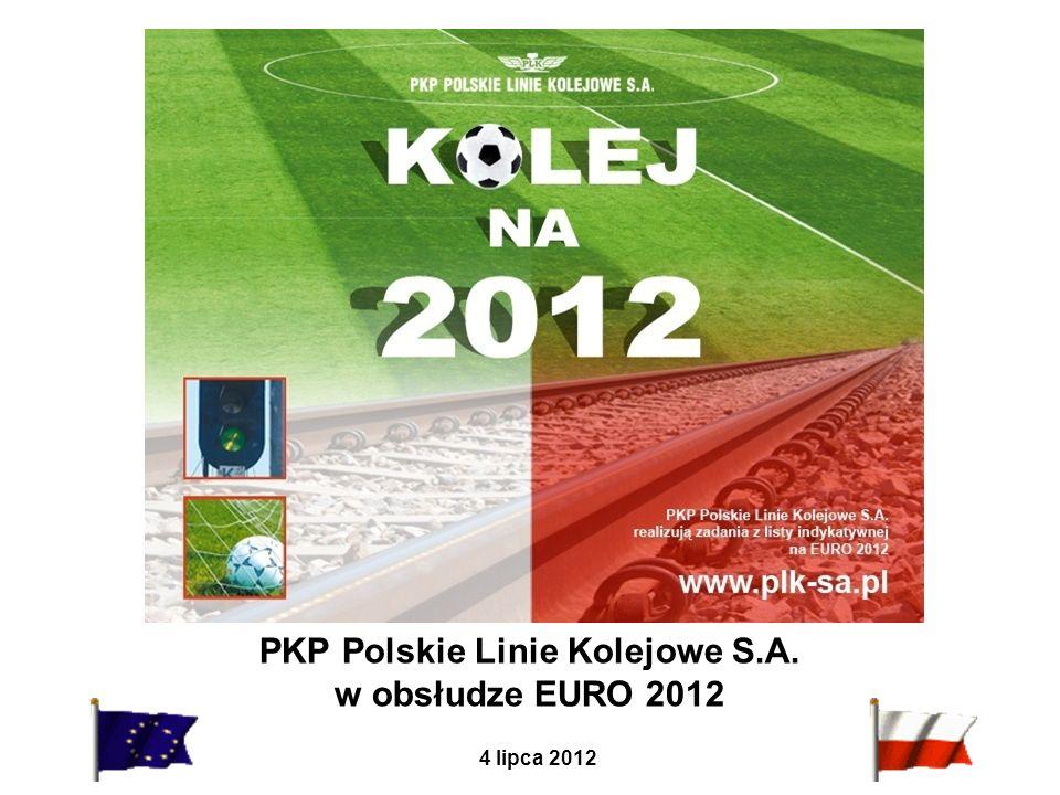 PKP Polskie Linie Kolejowe S.A. w obsłudze EURO 2012 4 lipca 2012